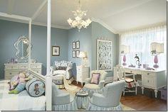 Ariel's Room - Under the Sea - by Zoya Bograd - Hampton Designer Showhouse - wide view