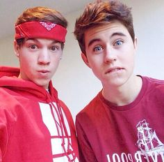 Magcon boys! Taylor Caniff and Nash grier!
