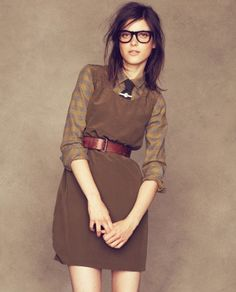 Tie and Dress with belt