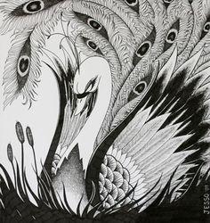 swan/peacock? lol