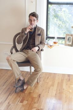 Literary Inspirations featuring Chuck Martell | TSBmen