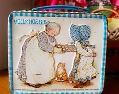 Holly Hobbie was my absolute favorite!!! bing holli, holly hobbie, lunch boxes, 80s flashback, lunches, childhood memori, hobbies, holli hobbi, lunchbox