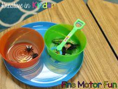 Fine Motor Skills Centers!