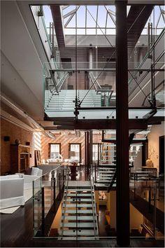 Loft Mansion in the Heart of Tribeca #interior #design #loft #tribeca #ny #newyork #decor #urban #modern #contemporary