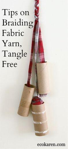 Braiding Fabric Yarn Tangle-Free