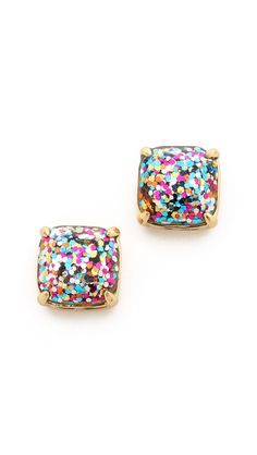 sparkle studs by kate spade. So much fun!