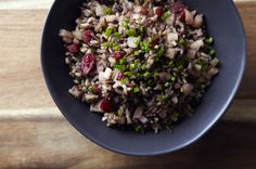 Spiced Cranberry and Pear Wild Rice Pilaf