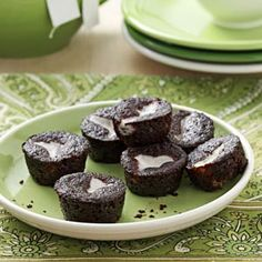 Chocolate-Bottom Mini-Cupcakes Recipe from Taste of Home -- shared by Bertille Cooper of California, Maryland