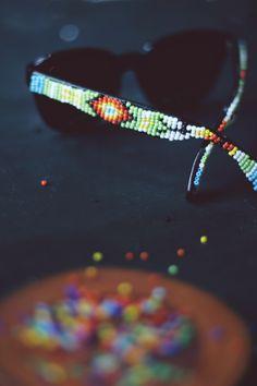 DIY Beaded Sunglasses