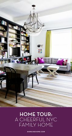 Tour a Cheerful and Elegant Family Home in NYC