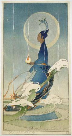 Bertha Lum 19920 Woodblock prints (Estampes) :: Asia