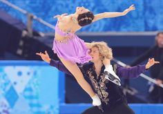 GOLD for Meryl Davis & Charlie White! The first ice dance Olympic gold medalists for Team USA!
