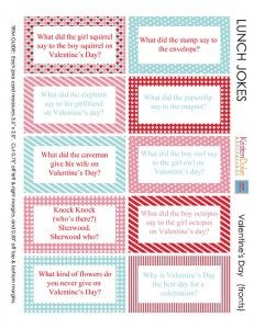 LOTS of Free Printable Lunch Box Notes - Making Memories With Your Kids
