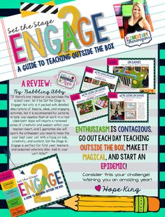Maximize Student Engagement: An eBook Guide to Teaching Outside the Box!