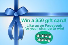 Here's your chance to win a 50 dollar Visa gift card! Just like us on Facebook to enter!