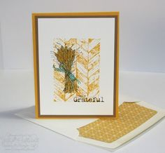 Jill's Card Creations: Truly Grateful with Crushed Curry