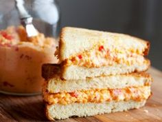 among the guiltiest of guilty pleasures -- pimento spread sammiches