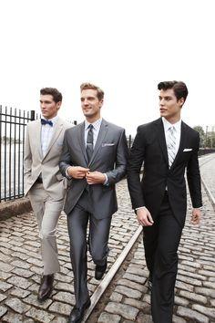 Nicely dressed gentlemen.