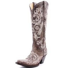 Cowgirl Clad Company - Corral Lace Stitch Cowgirl Boot G1027, $310.00 (http://www.cowgirlclad.com/corral-lace-stitch-cowgirl-boot-g1027/)