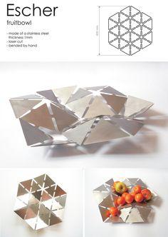 Escher fruitbowl