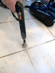 Do steam cleaners really work? Find out at www.groutcleaningdiy.com steam cleaners, steam cleaning, steam cleaning tile and grout, small steam cleaner, best steam cleaners