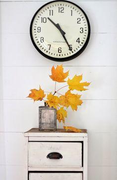 fall decor, patch farmgirl, fall fun, decor insid, flower patch, old tins, maple syrup, season decor