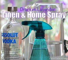 Camp Wander: Drunken Lavender Linen & Home Spray