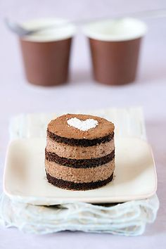 malted chocolate cakes
