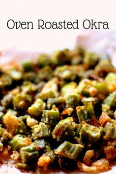 Oven Roasted Okra th