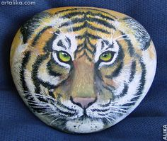 Image Detail for - painted rocks: animals