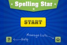 Spelling Star free app to practice spelling words