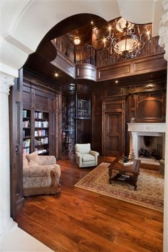 Luxury house Interiors in European styles.