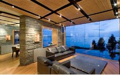 interior design, architects, ocean views, living rooms, chill room