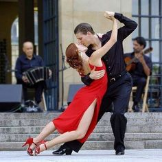 """TANGO! """"Love is a lot like dancing-you just surrender to the music."""""""