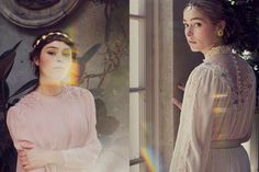 Romantic Vintage-Inspired Editorials - The Bisous Magazine 'Reve de Fleurs' Photoshoot is Dreamy (GALLERY)