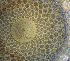 dome, lotfollah mosque, isfahan by seier+seier