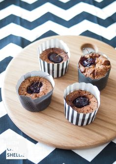 Quinoa, Almond and Cherry Friands