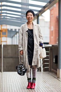 OTC - BUENOS AIRES STREET STYLE: keiko, 32 años, fashion buyer.