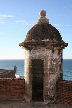 Garita del Morro,Puerto Rico's best known fortress