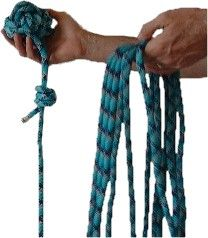 Monkey's Fist Knot . Useful for throwing a rope for a bear bag.