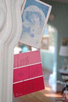 Paint Chip Valentine