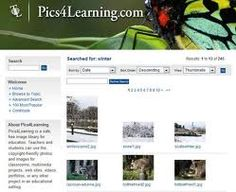 A very popular search engine for finding images safe for education.