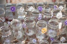 Beautiful mason jars