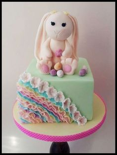 Spring Bunny Cake