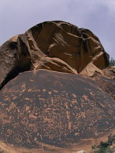 Newspaper rock....drawings in the Canyonlands National Park in Utah. There are symbols of the Navajo, Anasazi, and other local tribes. nation park, indian rock art, newspap rock, canyonland nation, petroglyph, national parks, newspaper rock, place, canyonlands national park