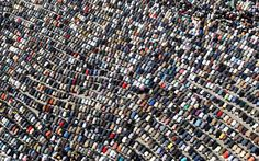 Thousands pray during the protests in Egypt, Tahrir square