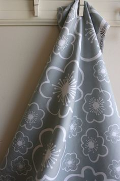 Large Flower in Grey from Bella by Lotta by SewFineFabric on Etsy, $2.70