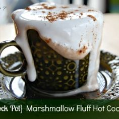 Marshmallow Fluff Hot Cocoa