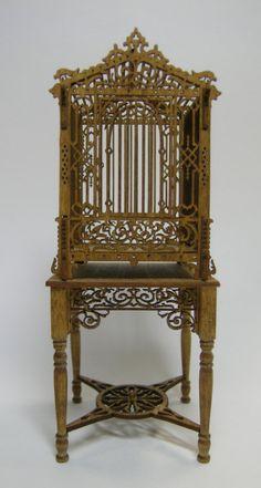tiny victorian birdcage