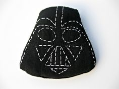 DIY Darth Vader Beanbag by showtellshare #DIY #Darth_Vader #Beanbag